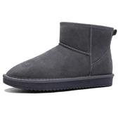 雪地靴男冬季保暖加厚防滑防水面包鞋真皮東北馬丁靴子棉鞋女促銷好物