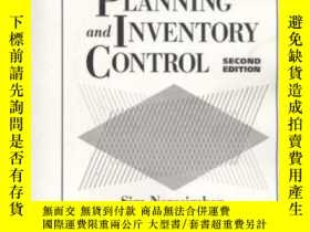 二手書博民逛書店Production罕見Planning And Inventory Control-生產計劃和庫存控制Y43