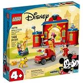 樂高積木 LEGO《 LT10776 》迪士尼系列 - Mickey & Friends Fire Truck & Station / JOYBUS玩具百貨