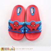 兒童拖鞋 蜘蛛人授權正版拖鞋 魔法Baby