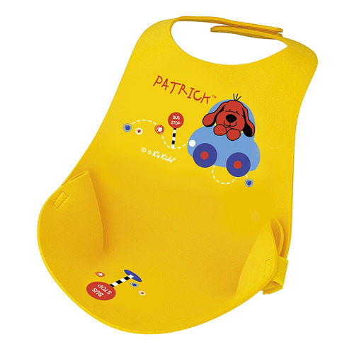 【奇買親子購物網】K's Kids Function Bib 寶寶隨身餐用圍兜