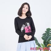 RED HOUSE-蕾赫斯-法鬥蝴蝶結針織衫(共2色)