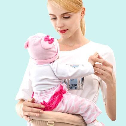 嬰兒背帶嬰兒背帶腰凳 多功能四季通用前抱式坐凳輕便新生兒抱娃神器背袋