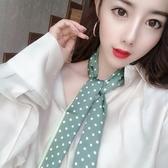 抖音同款網紅復古ins夏季脖子春秋百搭小絲巾女韓國領巾裝飾發帶