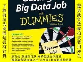 二手書博民逛書店Getting罕見a Big Data Job For DummiesY410016 Jason Willia