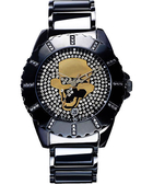 Relax Time 骷髏頭先生龐克潮流晶鑽手錶 R0800-18-03B