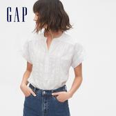 Gap女裝 簡約風格紐扣襯衫 573556-白色