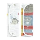 【奇哥】動物派對六層紗揹巾口水巾組