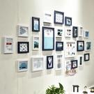 創意個性客廳臥室背景照片墻裝飾一面相片墻相冊相框連體掛墻組合·liv