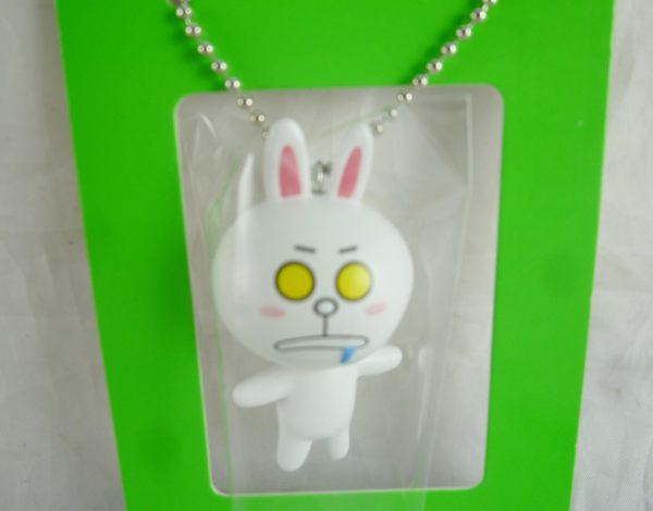 【震撼精品百貨】LINE FRIENDS_兔兔、熊大~吊飾娃娃-饅頭/兔兔【共2款】