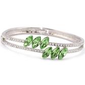 手環 925純銀 鑲鑽-繽紛閃耀生日情人節禮物女手鍊5色73ak144【時尚巴黎】