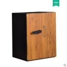 保險櫃 crn保險櫃家用新中式床頭櫃家用小型35/45/55/65cm保險箱防盜全鋼隱形保險箱CY 自由角落