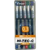 PILOT 百樂 LH-20C3-S5 0.3超細鋼珠筆 5C組入