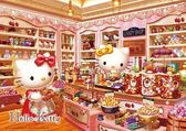 【拼圖總動員 PUZZLE STORY】糖果店 日本進口拼圖/Beverly/Hello Kitty/108P