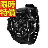 電子手錶-防水經典款流行運動腕錶4色58j7【時尚巴黎】