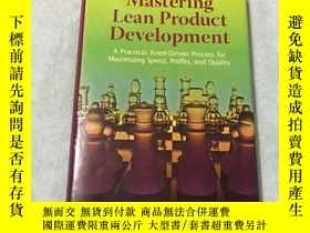 二手書博民逛書店掌握精益產品開發技術罕見Mastering Lean Produ