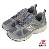 New balance 878 灰色 麂皮 休閒運動鞋 男女款NO.B1670【新竹皇家 CM878KO1】