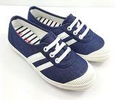 韓系簡約懶人帆布鞋《7+1童鞋》D234藍色