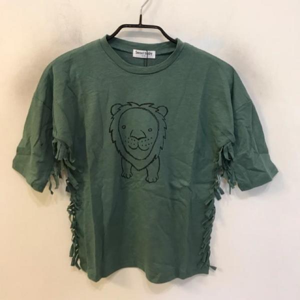 韓版修身基本款童裝短袖T恤(100-120碼/555-308)