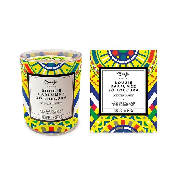巴黎百嘉 香氛蠟燭 180g 香櫞百香果 大豆蠟 純植物蠟 可按摩 BAJ0918017 Baija Paris