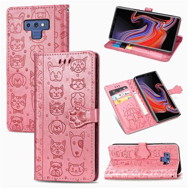 SamSung S21 Ultra手機套 S8/S9/N9三星保護套 S10/S10e/S10 Plus翻蓋保護殼 三星Note20卡通手機殼