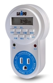 SAMPO 聲寶 3孔 數位電子式定時器(EP-UM1BT) **贈牙線棒**