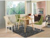 【新北大】✪ C866-3 菲特2.65尺方桌(不含餐椅)-18購