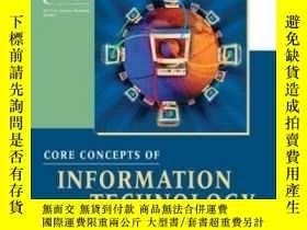 二手書博民逛書店Core罕見Concepts Of Information Technology AuditingY25626