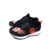 New Balance FUEL CORE 運動鞋 懶人鞋 黑/粉橘 童鞋 PKRVLBP2-W no903