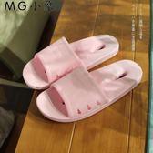 拖鞋 防滑厚底軟夏季居家浴室拖鞋