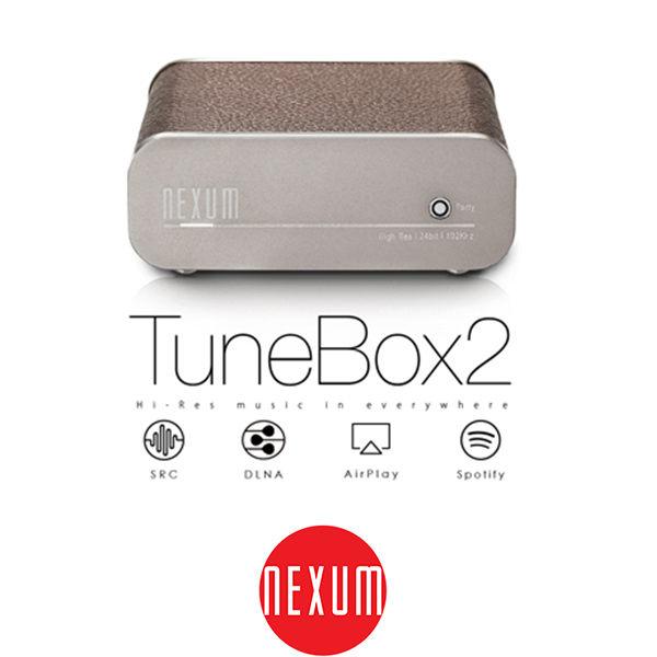 【台中平價鋪】全新 Nexum TuneBox 2 (TB21) 無線音樂盒/自製串流/音響上網音樂播放器 深棕色
