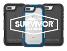 ★ APP Studio ★【Griffin 】Survivor Extreme iPhone 8 Plus / 7 Plus超強韌防摔保護殼(5.5吋)