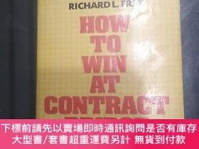 二手書博民逛書店橋牌書How罕見to win at contract bridgeY455453 未: 未詳 出版1967