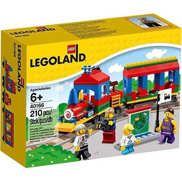 LEGO 樂高 綜合系列 Legoland Train 樂園限定小火車 40166