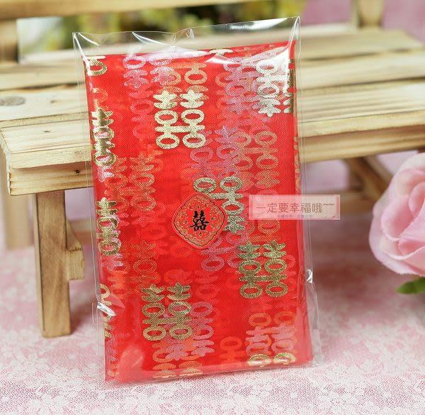 一定要幸福哦~~紅絲巾(燙金喜字)、婚俗用品、結婚用品