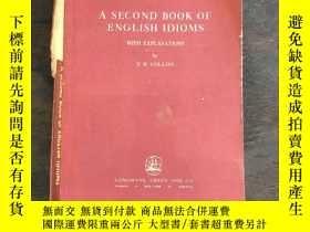 二手書博民逛書店A罕見second book of English idioms