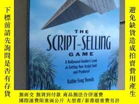 二手書博民逛書店The罕見script-selling Game-A holly