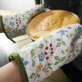 廚房烘焙專用隔熱手套烤箱手套家用防熱耐高溫防燙加厚微波爐手套  聖誕節歡樂購