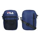 FILA 網袋夾層側背包(斜背包 肩背包 隨身包≡體院≡ BMV-7009-NV