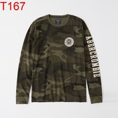 AF Abercrombie & Fitch A&F A & F 男 長袖T恤 長T T167