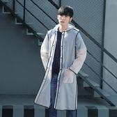 旅行透明雨衣成人外套裝男女式學生時尚戶外徒步雨披騎行便攜  LannaS