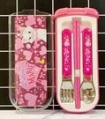 【震撼精品百貨】The Aristocats Marie 迪士尼瑪莉貓~日本盒裝餐具組-粉*31306