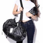 防水摺疊旅行包男手提運動包行李袋側背包女休閒包時尚訓練健身包 沸點奇跡