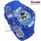 SANRIO三麗鷗 BAD BADTZ-MARU酷企鵝系列 日本機芯 童趣卡通女錶 兒童錶 藍色 S7-1034B