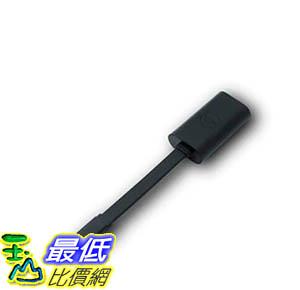[9美國直購] 適配器 Dell Adapter- USB-C to Ethernet (PXE Boot) Dell Part 470-ABND