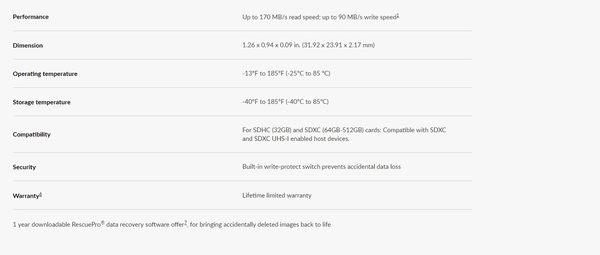 SanDisk 128GB 128G SDXC Extreme Pro 【170MB/s】SD SDHC UHS 4K U3 V30 C10 SDSDXXY-128G 相機記憶卡