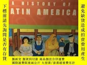 二手書博民逛書店英文原版:A罕見history of Latin AmericaY367822 Benjamin Keen …