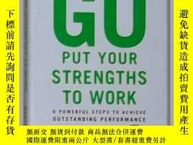 二手書博民逛書店英文原版罕見Go Put Your Strengths to W