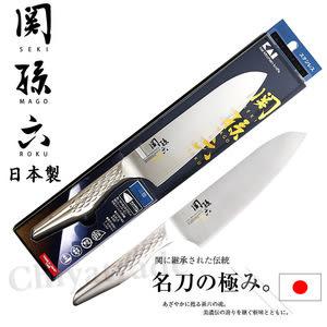【日本貝印KAI】日本製-匠創名刀關孫六 一體成型不鏽鋼刀(廚房三德包丁)