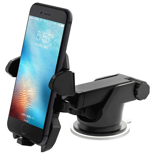 Smart Tap【日本代購】車載支架 手機架easy one touch 2 ( 伸縮臂粘性凝膠吸盤) HLCRIO121